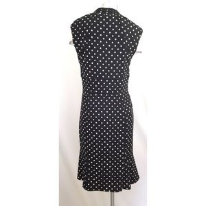 White House Black Market Dresses - White House Black Market Size 10 Polka Dot Dress